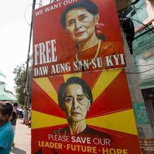 Líder de Myanmar é acusada de novo crime por militares ...