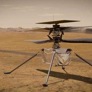 Nasa acha possível solução para falha do helicóptero Ingenuity
