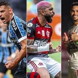 São Paulo, Flamengo, Grêmio e Atléticos começam a ...