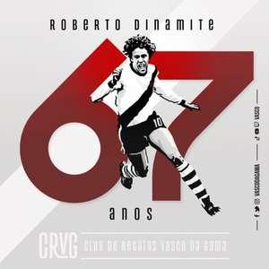 Vasco rende homenagens a Roberto Dinamite pelo ...