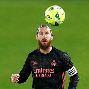 Sergio Ramos, do Real Madrid, é diagnosticado com Covid-19