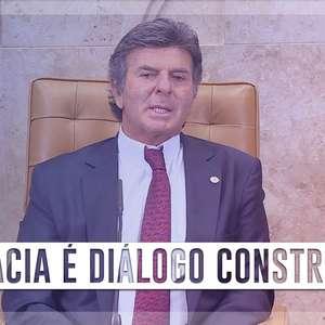 Fux: Democracia não é 'concordância forjada ou aplausos imerecidos', mas sim 'diálogo construtivo'