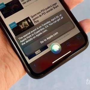 Siri revela que Apple deve realizar evento no dia 20 de ...