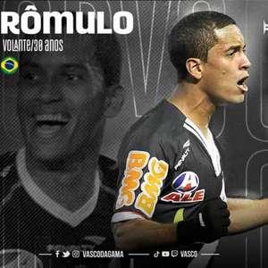 Ele voltou! Vasco anuncia a contratação do volante Rômulo