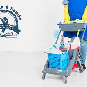 Profissionalização da limpeza é essencial para garantir ...