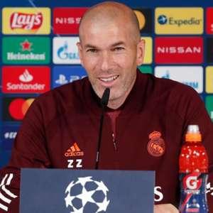 Zidane celebra classificação do Real Madrid para as ...