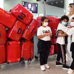 Esposa e filhos do ex-Corinthians Dentinho são barrados ...