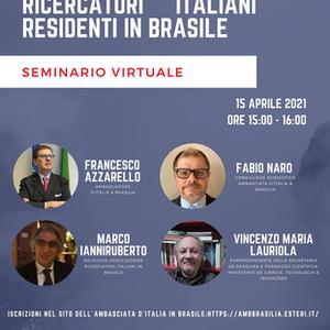 Embaixada faz 'censo' de pesquisadores italianos no Brasil