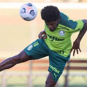 Escalação do Palmeiras: Luiz Adriano e Danilo Barbosa ...