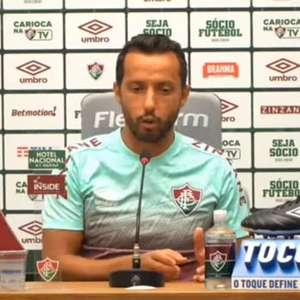 """FLUMINENSE: Nenê cita base do elenco, crê que time estará pronto para encarar o River Plate e ressalta: """"ano passado também ninguém acreditava na gente"""""""