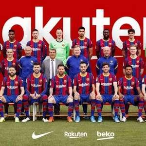 Montagem de Coutinho em foto do Barcelona diverte ...