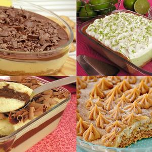 10 receitas de doces na travessa para todo mundo repetir a sobremesa