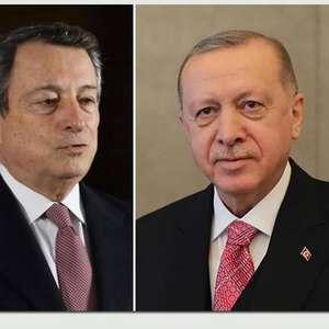 Erdogan rebate crítica de Draghi: 'Você não foi eleito'