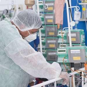 SP pede kit intubação em 24 h ao governo para evitar colapso