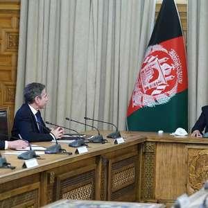 Blinken visita Afeganistão para debater retirada de tropas
