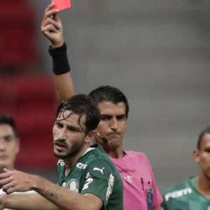 'Palmeiras perdeu porque teve um jogador expulso', diz ...