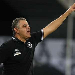 Chamusca explica escalação do Botafogo e destaca: 'A ...