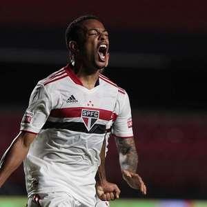 Welington comemora primeiro gol pelo São Paulo: 'Nem ...