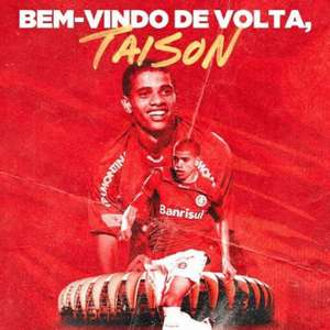 Taison Day! Internacional anuncia a volta do atacante Taison