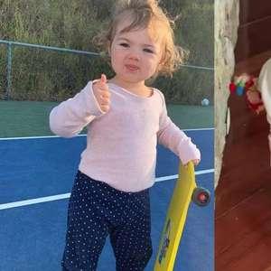 Rafa Vitti mostra filha com o primeiro skate: 'Um caso ...