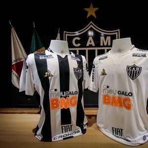Atlético-MG lança nova coleção de uniformes em evento ...