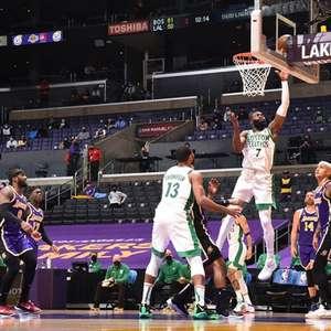 Em grande atuação, Brown anota 40 pontos e Celtics ...