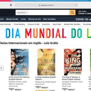 Amazon oferece 10 e-books grátis no Brasil em Dia ...