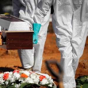 Taxa de mortalidade por Covid no Brasil já é maior que ...