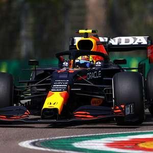 """Pérez crê em Red Bull """"com ritmo de corrida forte"""" após ..."""