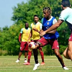 Manoel, Cazares e Abel treinam com o grupo; Bobadilla vai ao CT do Fluminense