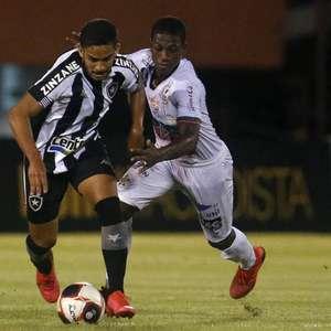 Botafogo tem média de 3,7 finalizações na direção do gol ...