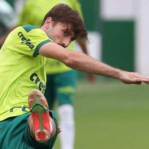 Escalação do Palmeiras: Titulares treinam para último ...