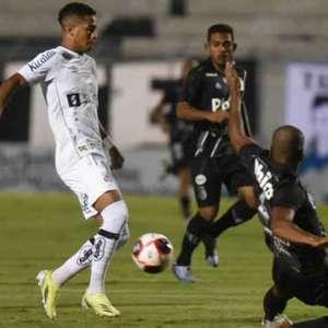 Santos joga mal e perde para a Ponte Preta em Campinas