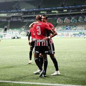 Autor do gol do São Paulo, Pablo diz: 'É bom voltar a ...