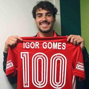 Igor Gomes comemora 100º jogo pelo São Paulo: 'Sonho ...
