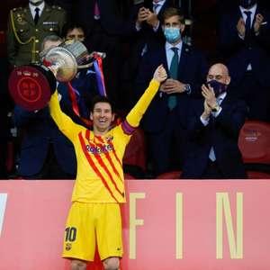Messi comemora título da Copa do Rei: 'Este grupo ...
