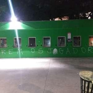 Muros do Allianz Parque são pichados após derrota do ...