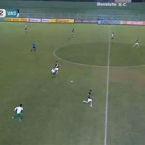 Vasco empata com o Boavista e está eliminado do Carioca