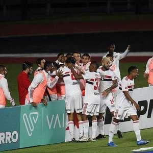 São Paulo divulga jogadores inscritos para a ...