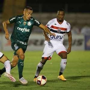 Em maratona de jogos, Palmeiras busca maior utilização ...