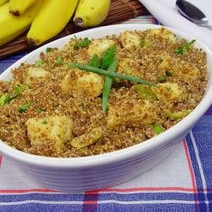 Farofa de carne moída com banana: saborosa opção para o ...