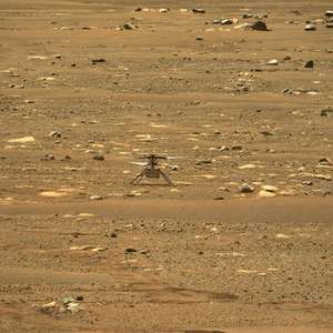 Ingenuity faz primeiro voo motorizado em outro planeta