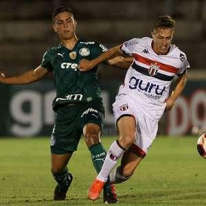 Em jogo truncado, Palmeiras empata com o Botafogo-SP ...