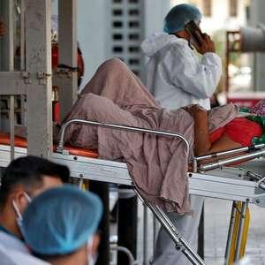 Sistema de saúde da Índia desmorona sob a Covid, Délhi ...