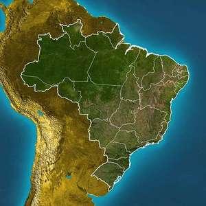 Previsão Brasil- Ar seco ganha força sobre o país