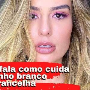 Fernanda Keulla fala sobre pelinho branco da sobrancelha