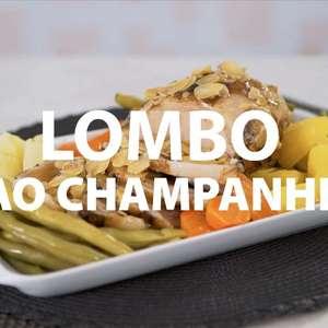 Lombo ao champanhe