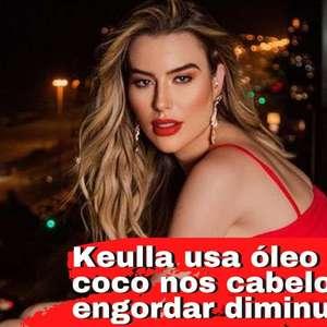 Fernanda Keulla revela que queda de cabelo parou após engordar