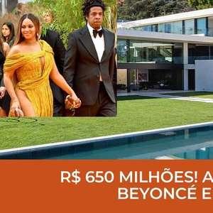 A mansão de quase R$ 1 bilhão de Beyoncé e Jay-z!