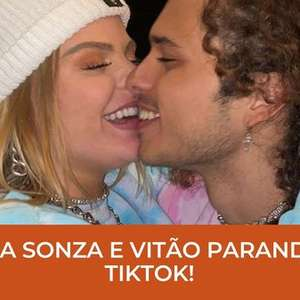 Luisa Sonza e Vitão! O casal que parou o Tik tok